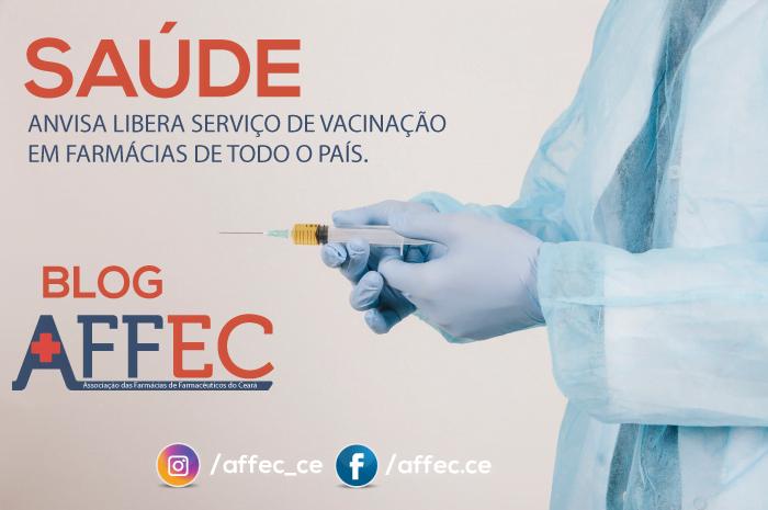 Anvisa libera serviço de vacinação em farmácias de todo o país.